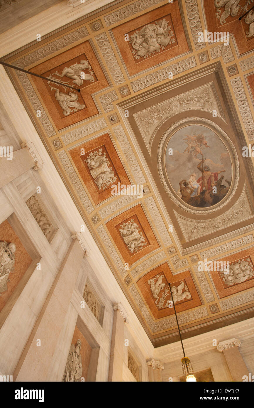 Ceiling of Museo Correr Museum, San Marcos - St Marks Square, Venice ...