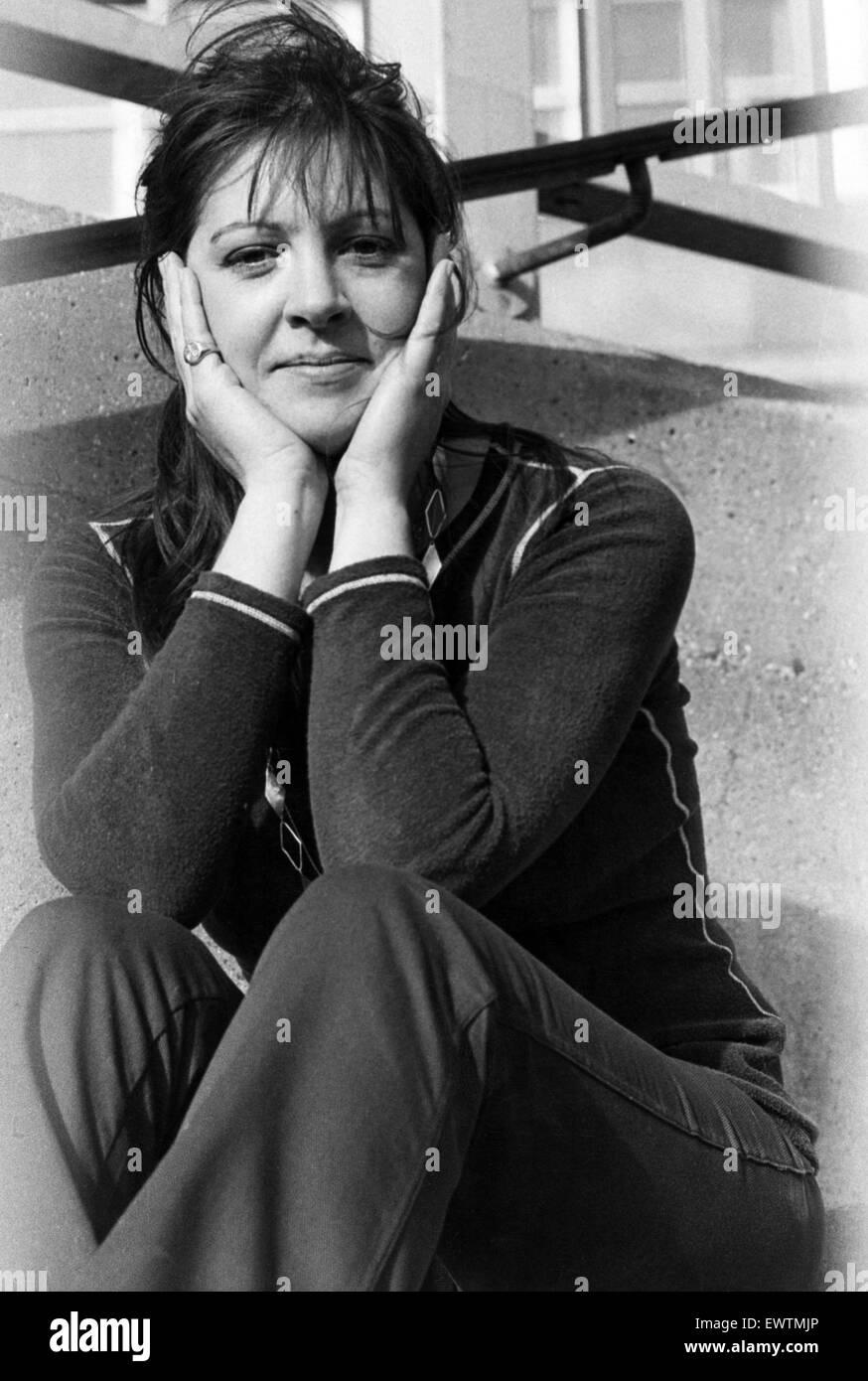 Actress Penelope Wilton. February 1974. - Stock Image