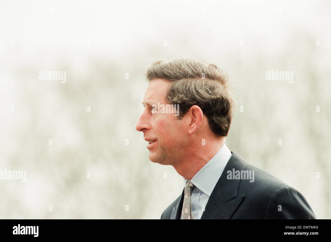 Prince Charles visits Rosecroft Secondary School, Loftus, Saltburn-By-the-Sea, Redcar And Cleveland, Wednesday 30th - Stock Image