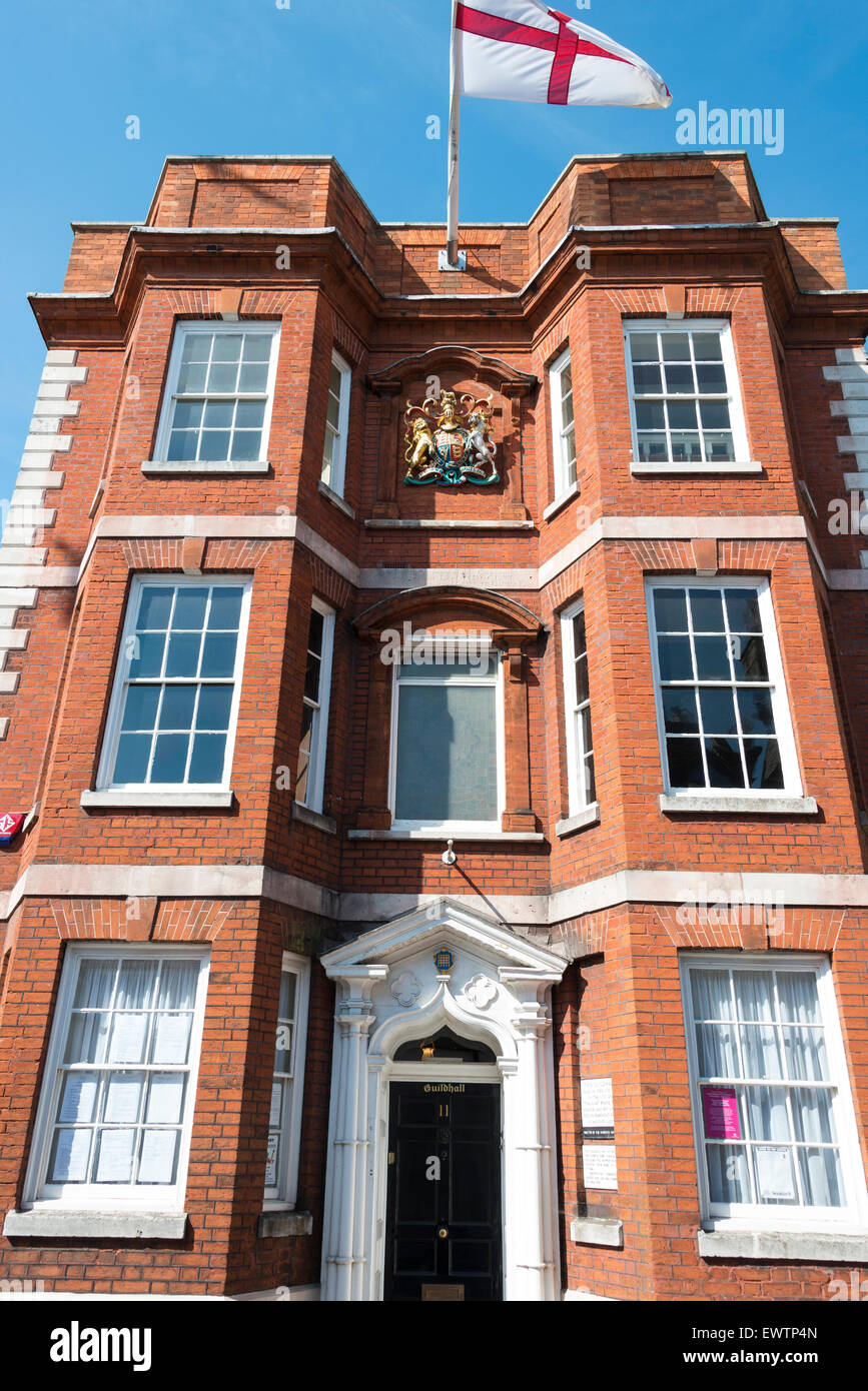 Harwich Town Council, The Guildhall, Church Street, Harwich, Essex, England, United Kingdom - Stock Image