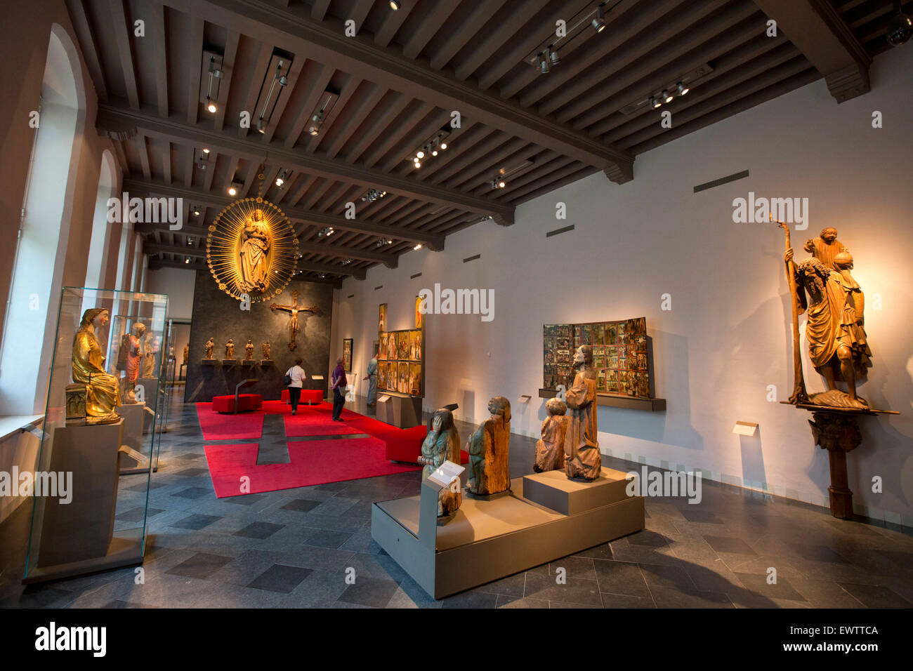 St. Catherine museum, Utrecht, Holland - Stock Image