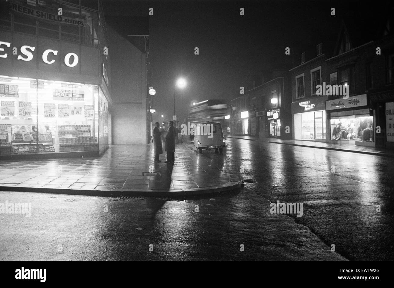 Smethwick, a town in the Sandwell Metropolitan Borough, in the West Midlands of England. March 1964. - Stock Image