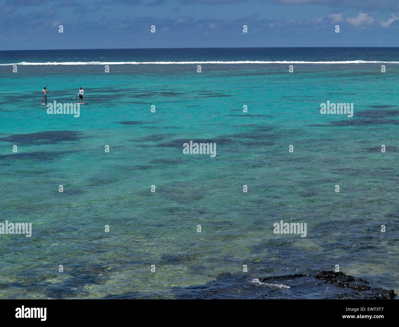 barriere de corail Blue Bay ile Maurice Stock Photo: 84755783 - Alamy