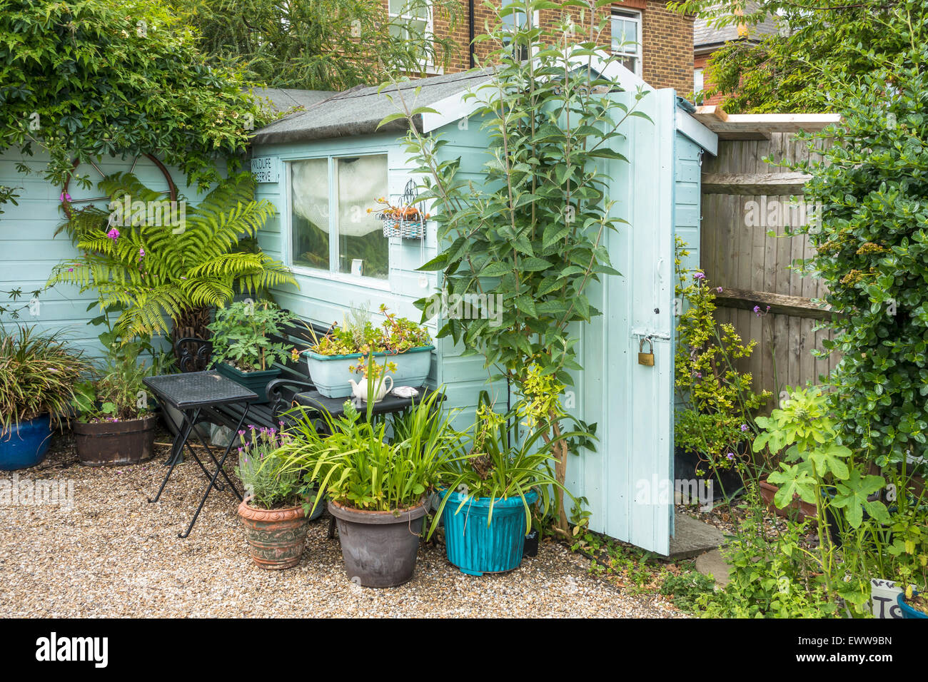 Attractive Garden Shed - Stock Image