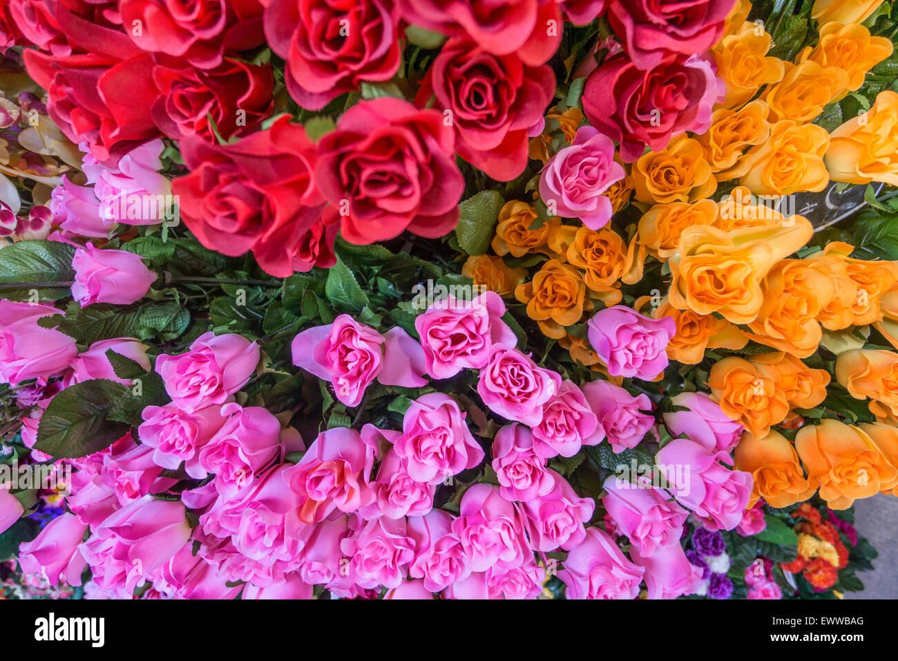 Pink mediterranean flower stock photos pink mediterranean flower flowers flower market nice alpes maritimes provence french riviera mediterranean mightylinksfo