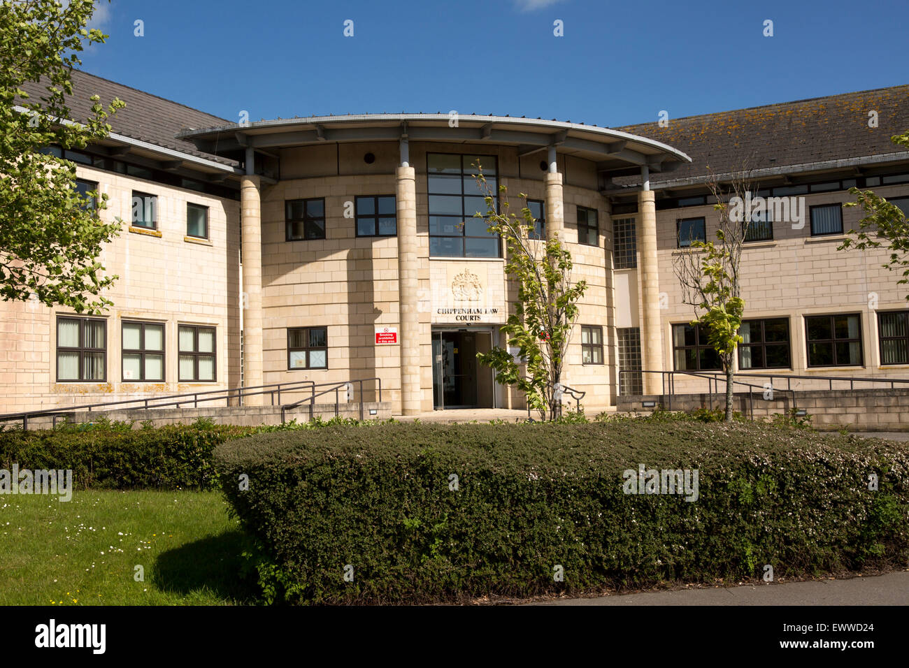 Law Courts in Chippenham, Wiltshire, England, UK - Stock Image
