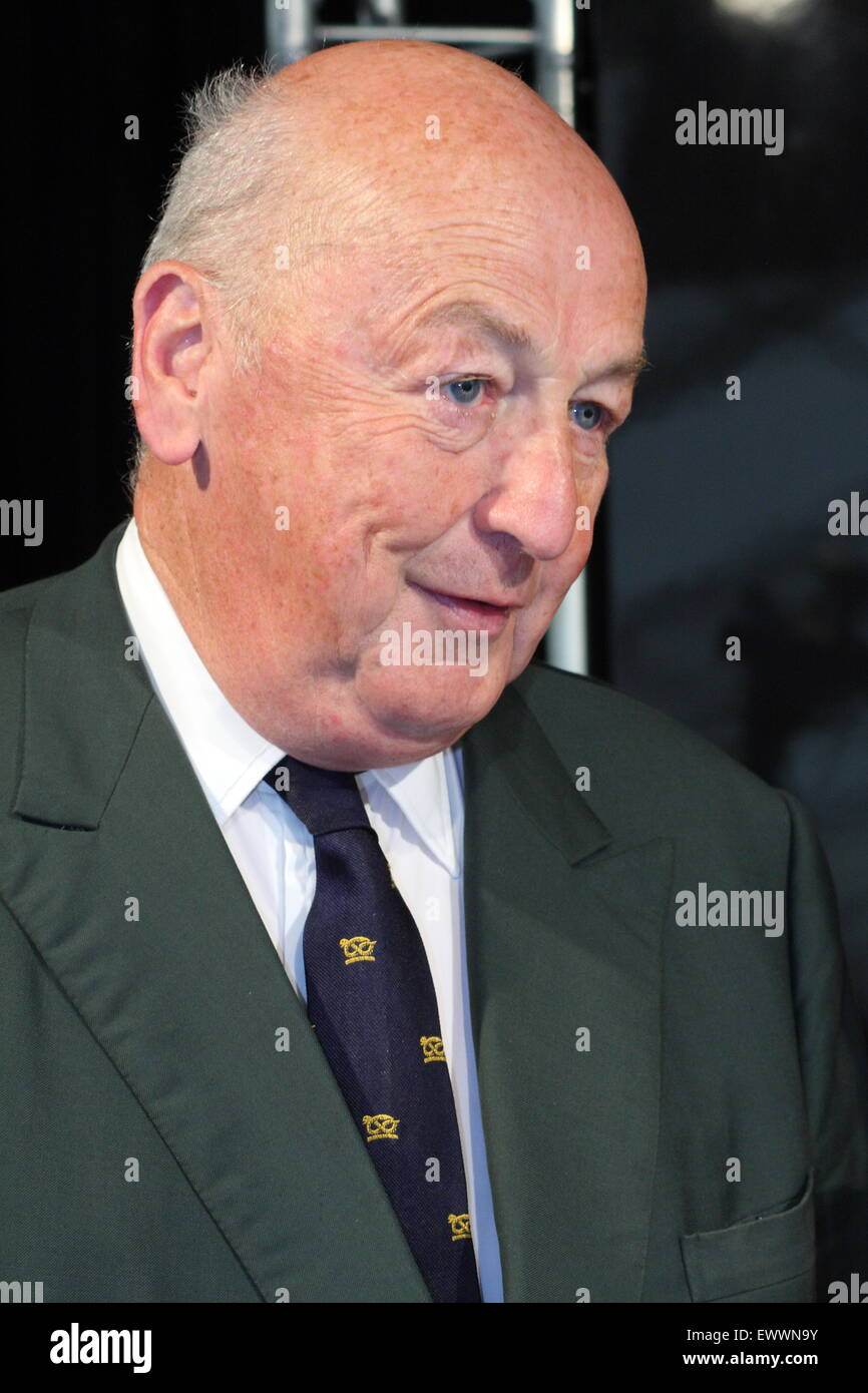 Peregrine Andrew Morny Cavendish, 12th Duke of Devonshire - photo call, at Chatsworth Country Fair, 2013 - Stock Image