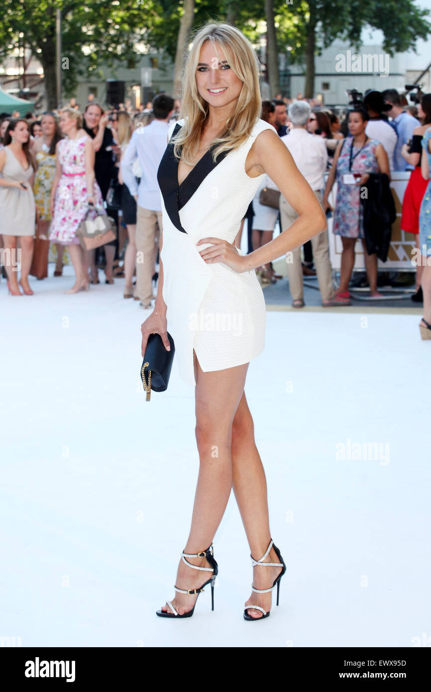 London. 30th June, 2015. Kimberley Garner attending the 'Magic Mike XXL' film premiere at Vue West End on - Stock Image