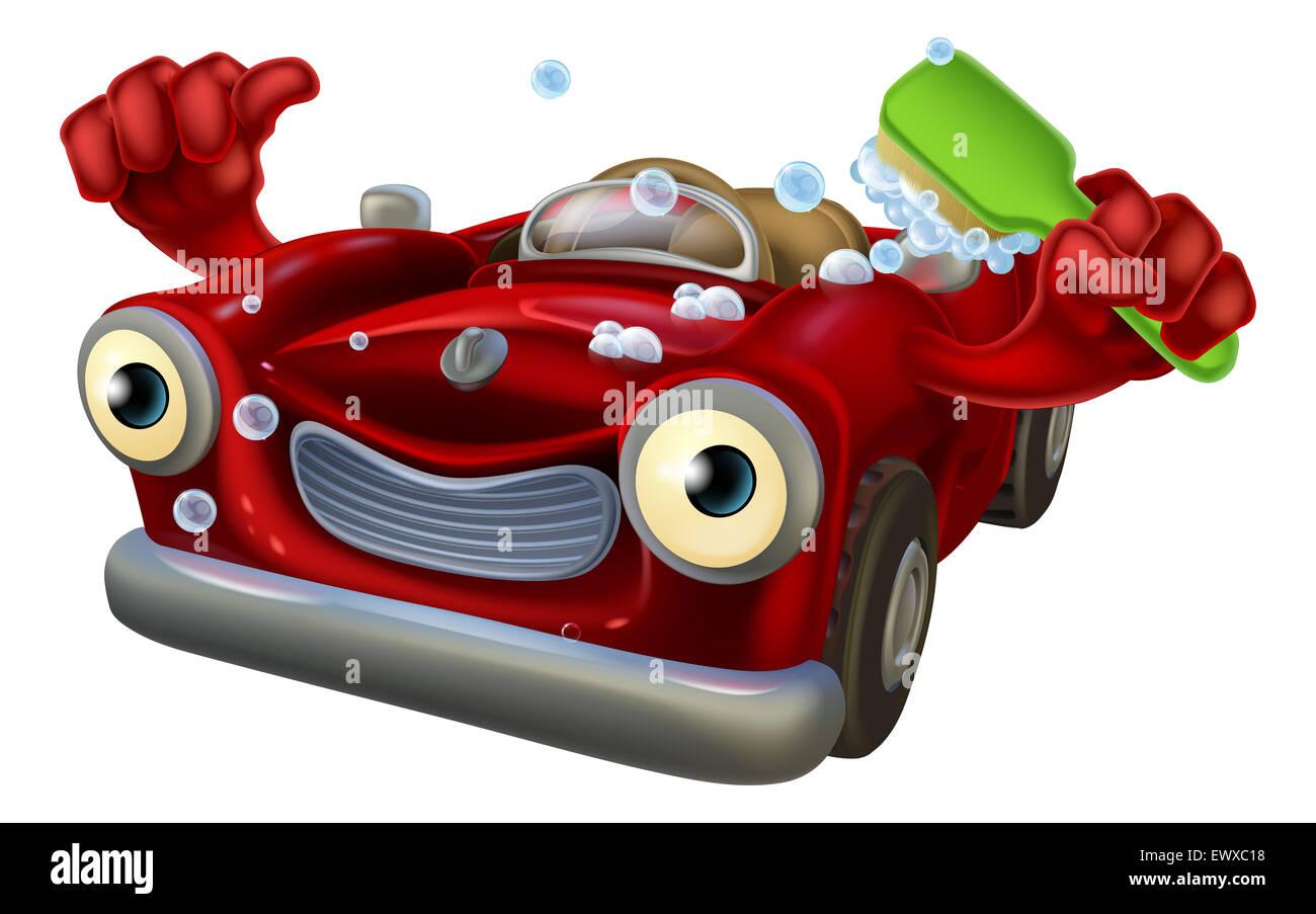 Scrubbing Bubbles Car Wash