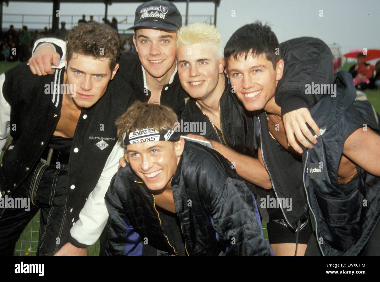 TAKE THAT  UK pop group in 1993 - Stock Image