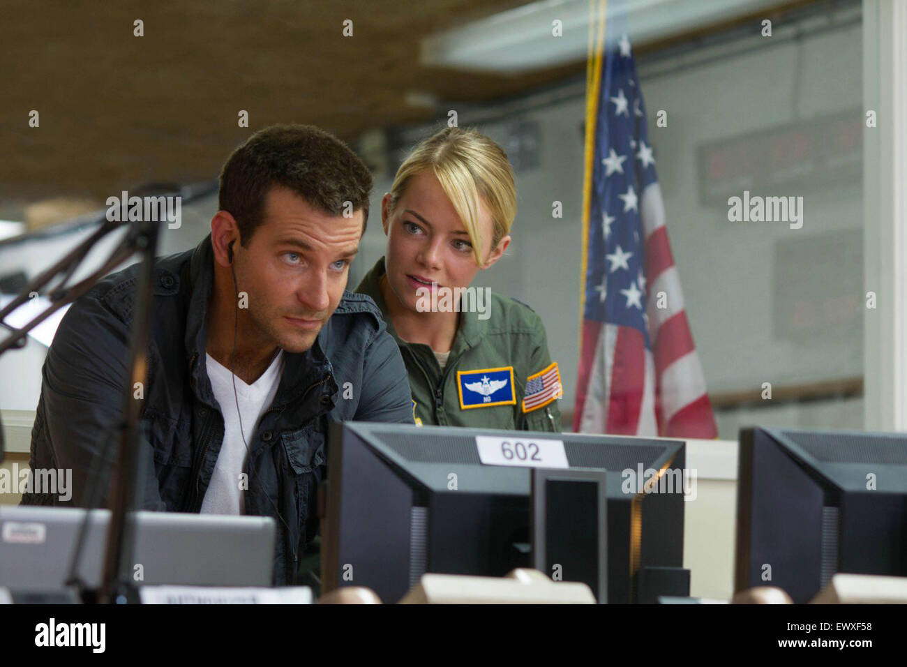 ALOHA (2015)  BRADLEY COOPER, EMMA STONE  CAMERON CROWE (DIR) - Stock Image