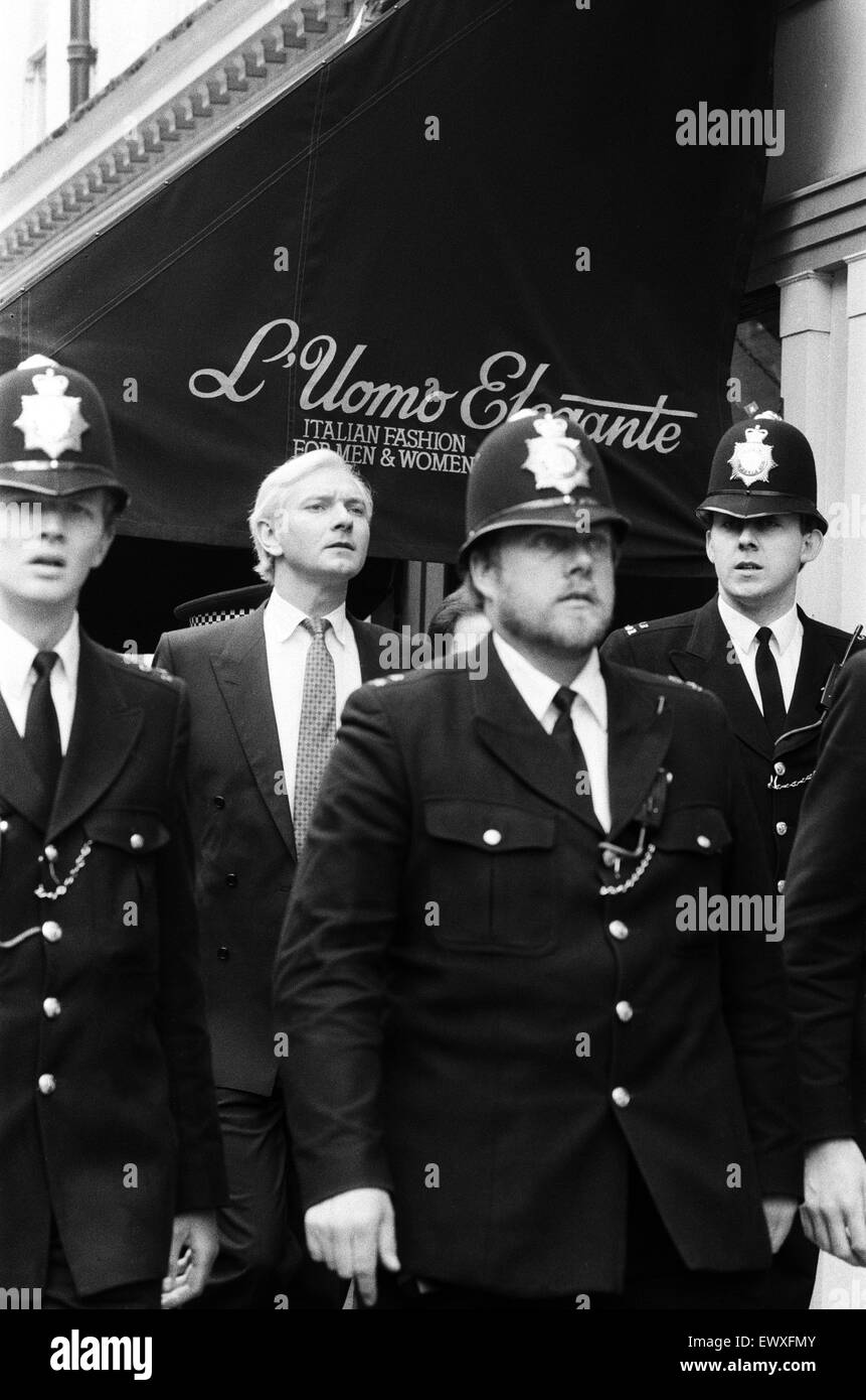 MP Harvey Proctor today admitted four charges of gross indecency with teenage rent boys at London's  Bow Street - Stock Image