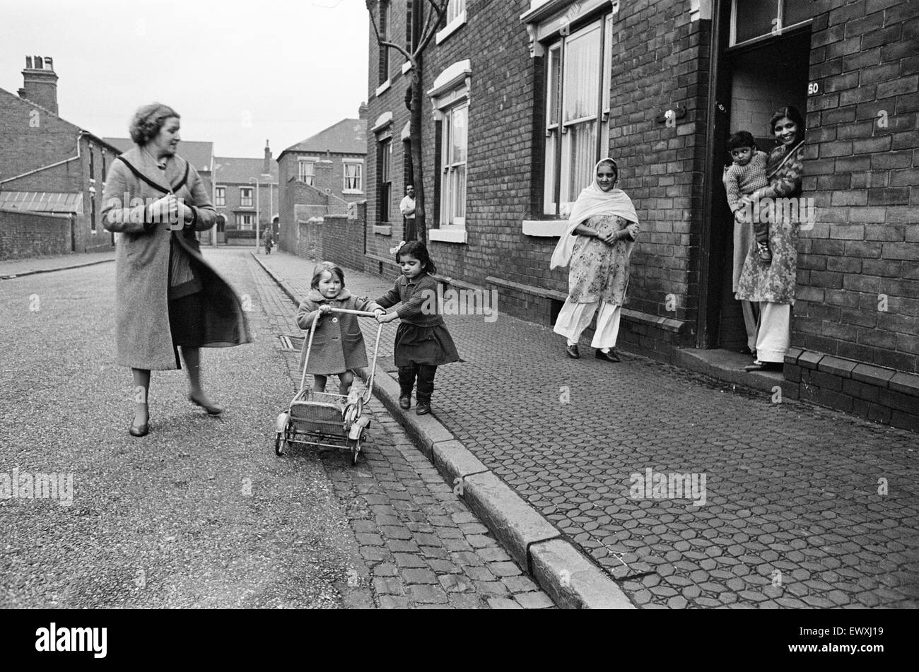 Marshall Street, Smethwick, a town in the Sandwell Metropolitan Borough, in the West Midlands of England. 7th December - Stock Image