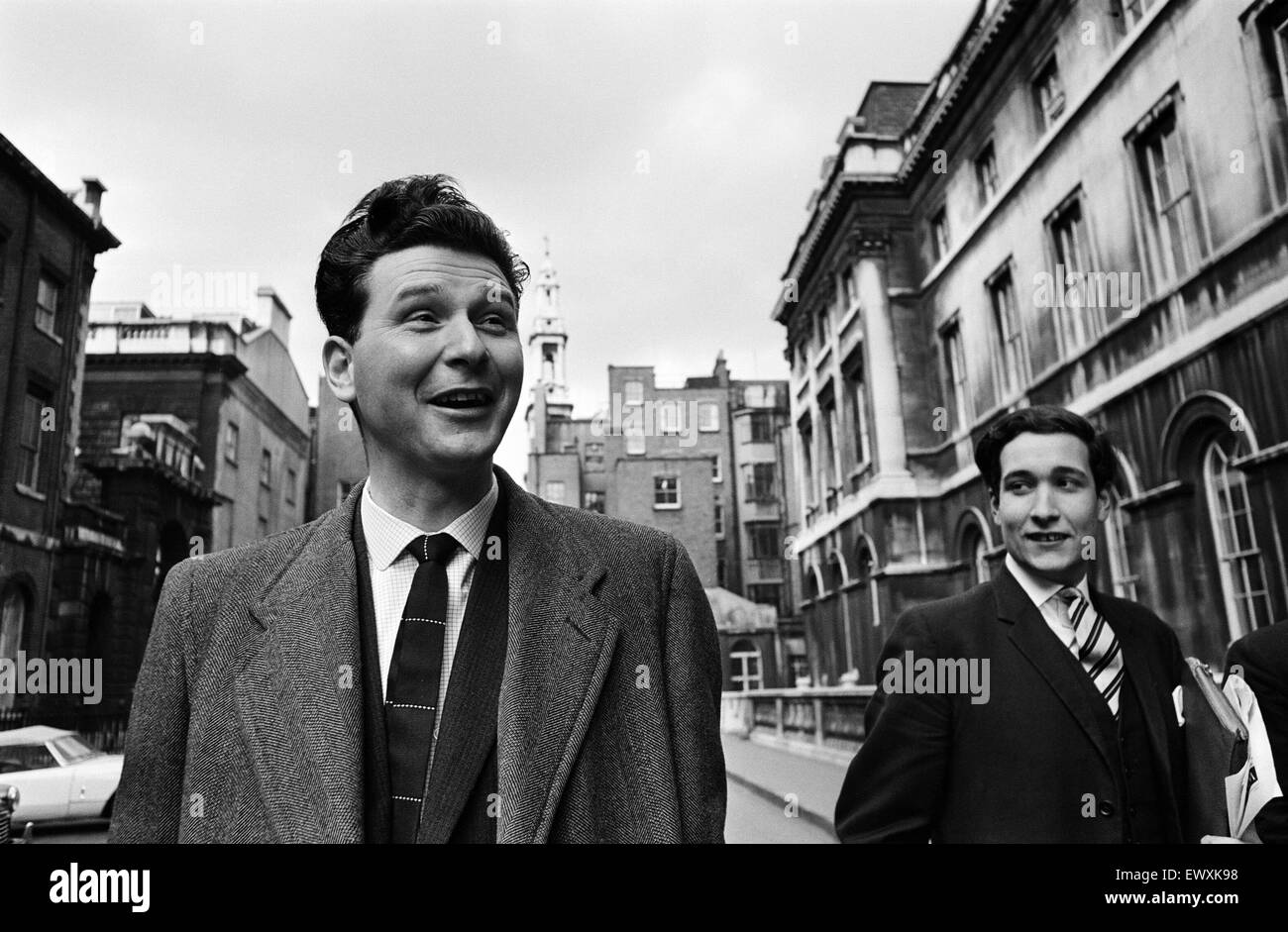 Conservative MP for Smethwick, Peter Griffiths, London. 16th February 1965. - Stock Image
