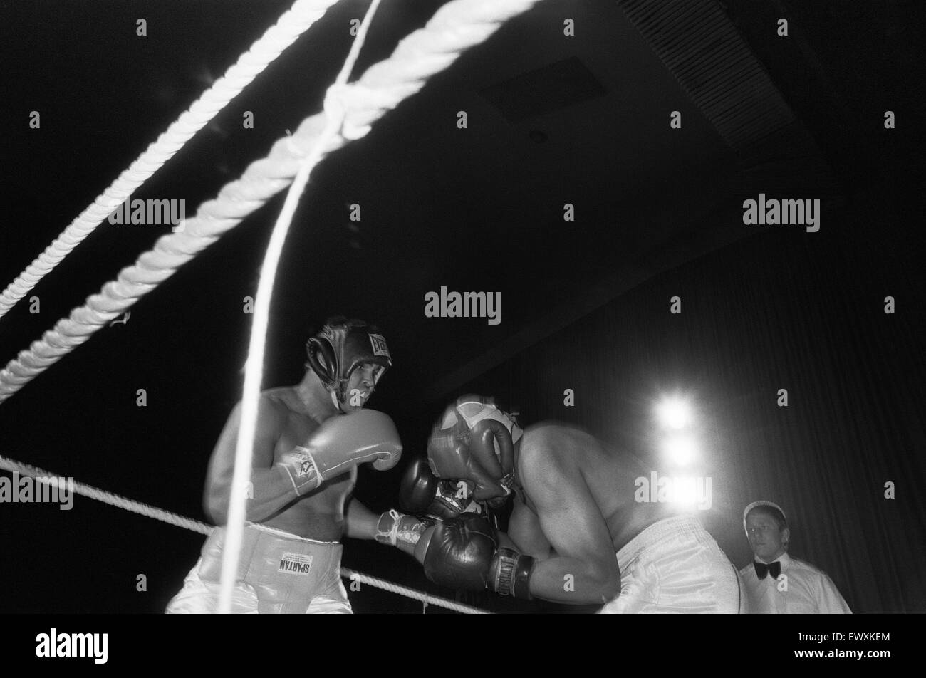 Muhammad Ali at boxing exhibition match in Birmingham. 7th June 1979 - Stock Image