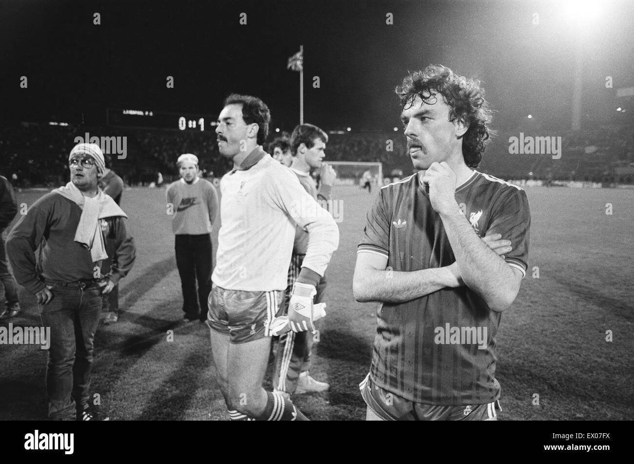 Juventus 1 0 Liverpool 1985 European Cup Final Heysel Stadium Stock Photo Alamy