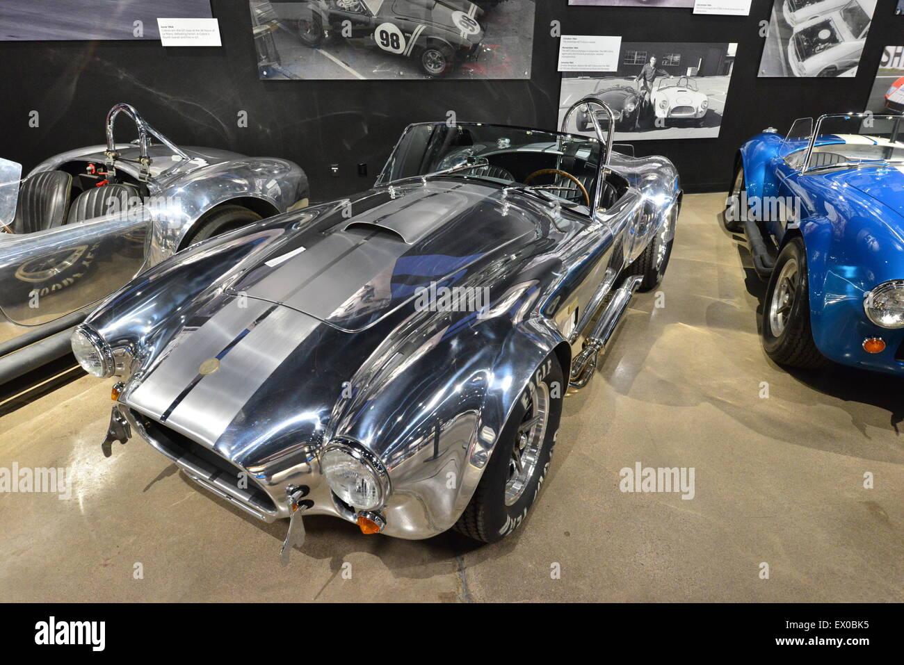 Tour Shelby Cobra Museum and Factory Las Vegas Mustang Car ...