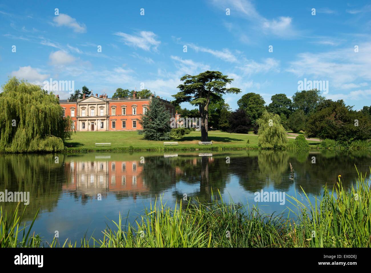 Staunton Harold Hall in Leicestershire, England UK - Stock Image