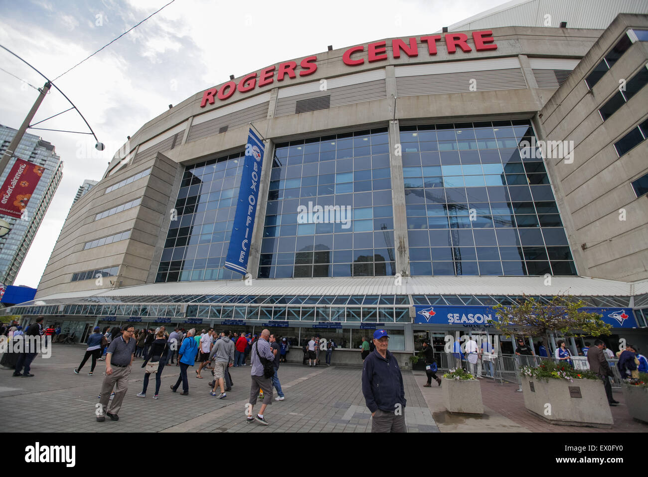 Rogers Centre Toronto Canada formerly known as Skydome - Stock Image