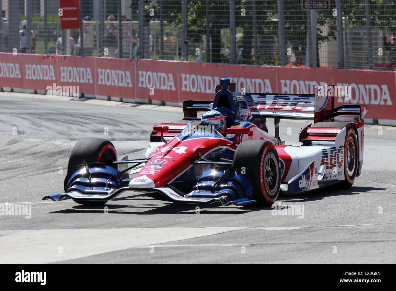 formula one car race honda indy toronto canada - Stock Image