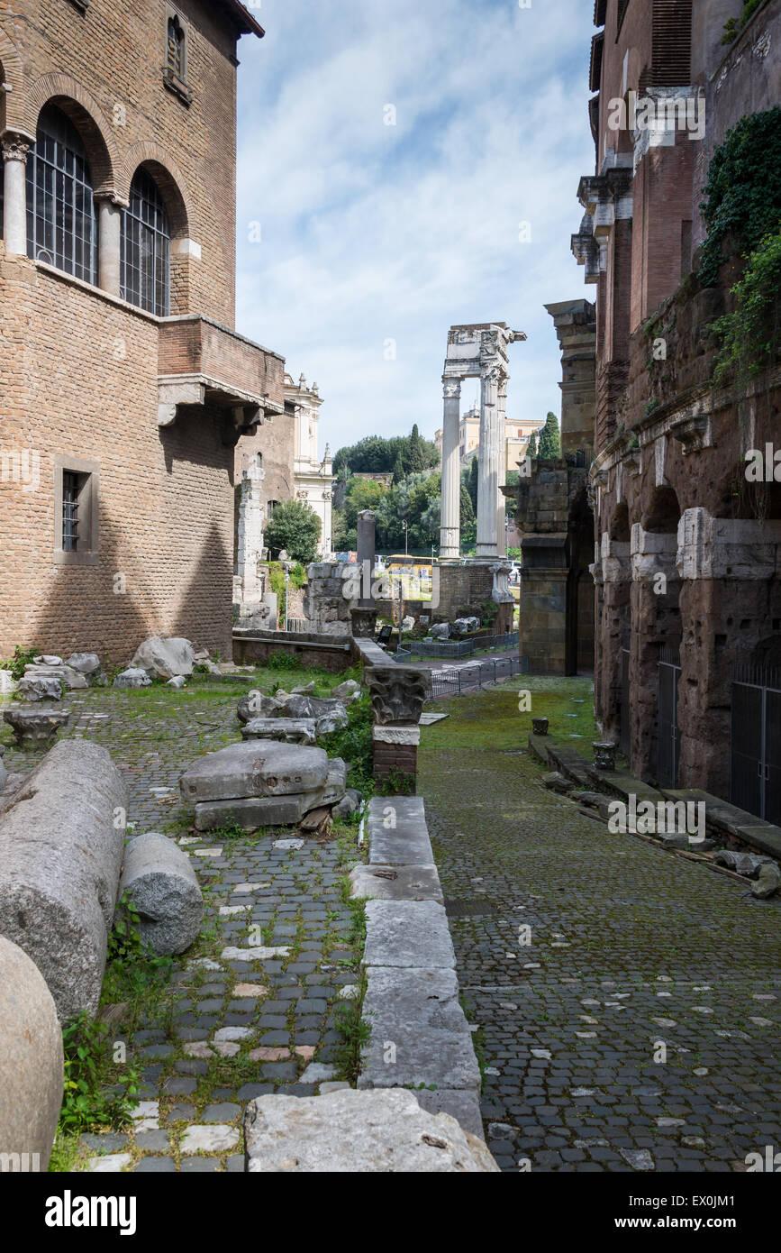 Temple of Apollo Sosianus - Stock Image