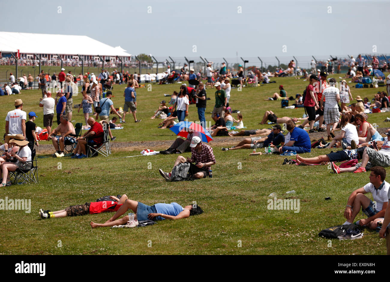Silverstone Crowd Stock Photos & Silverstone Crowd Stock Images - Alamy