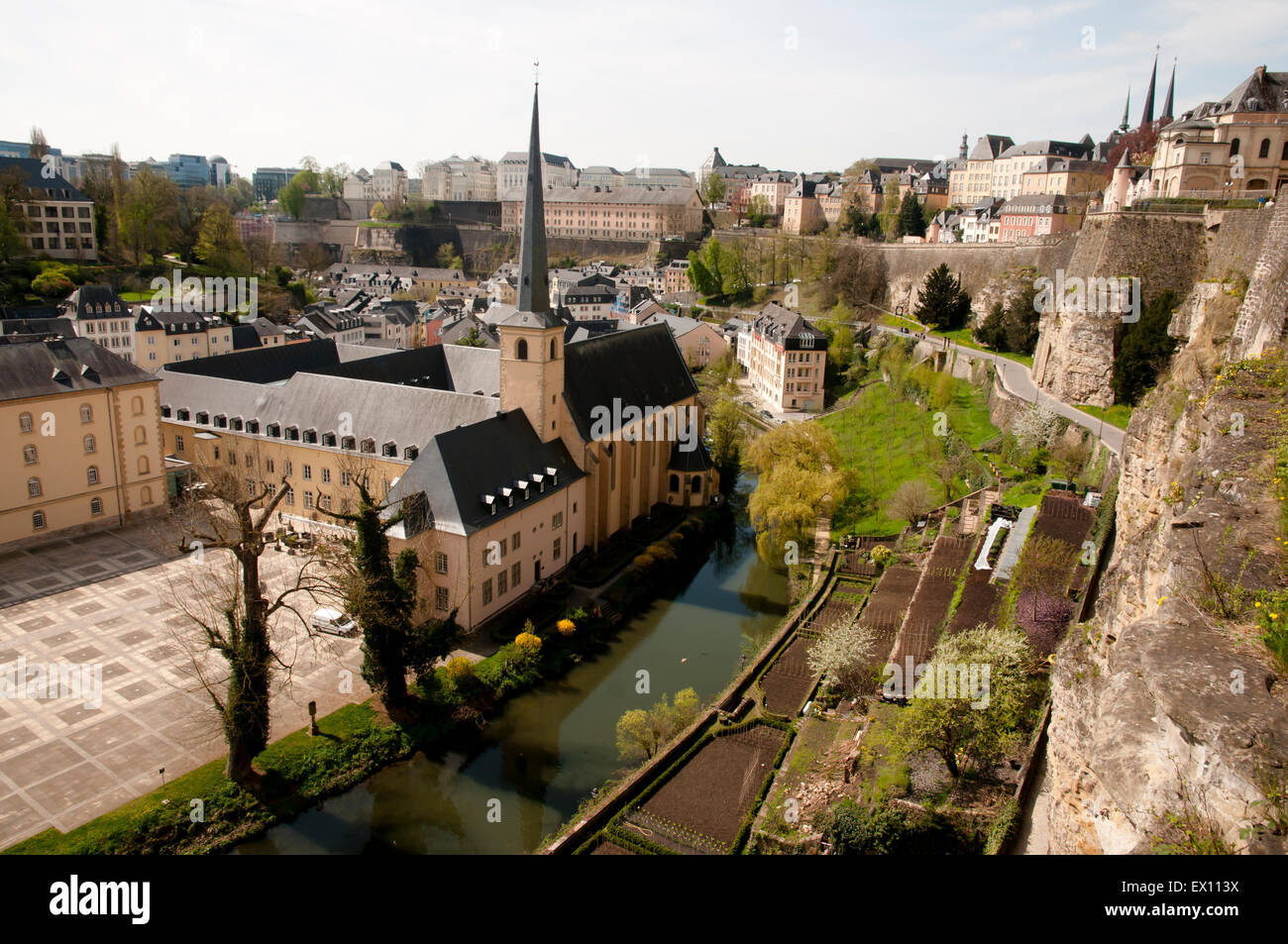 Luxembourg City Casemates - Stock Image