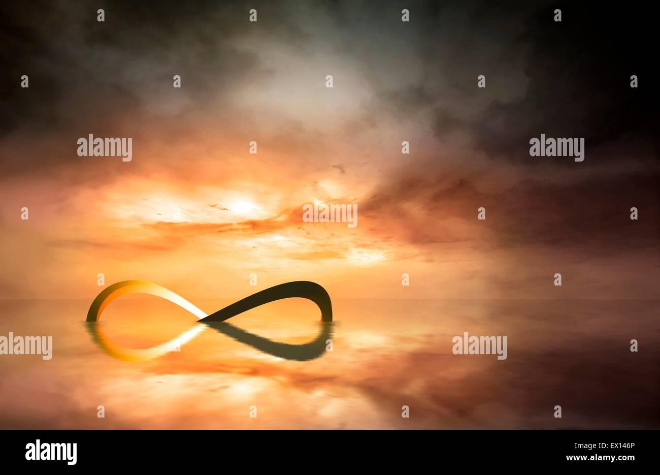 Infinity Symbol Mathematics Stock Photos Infinity Symbol