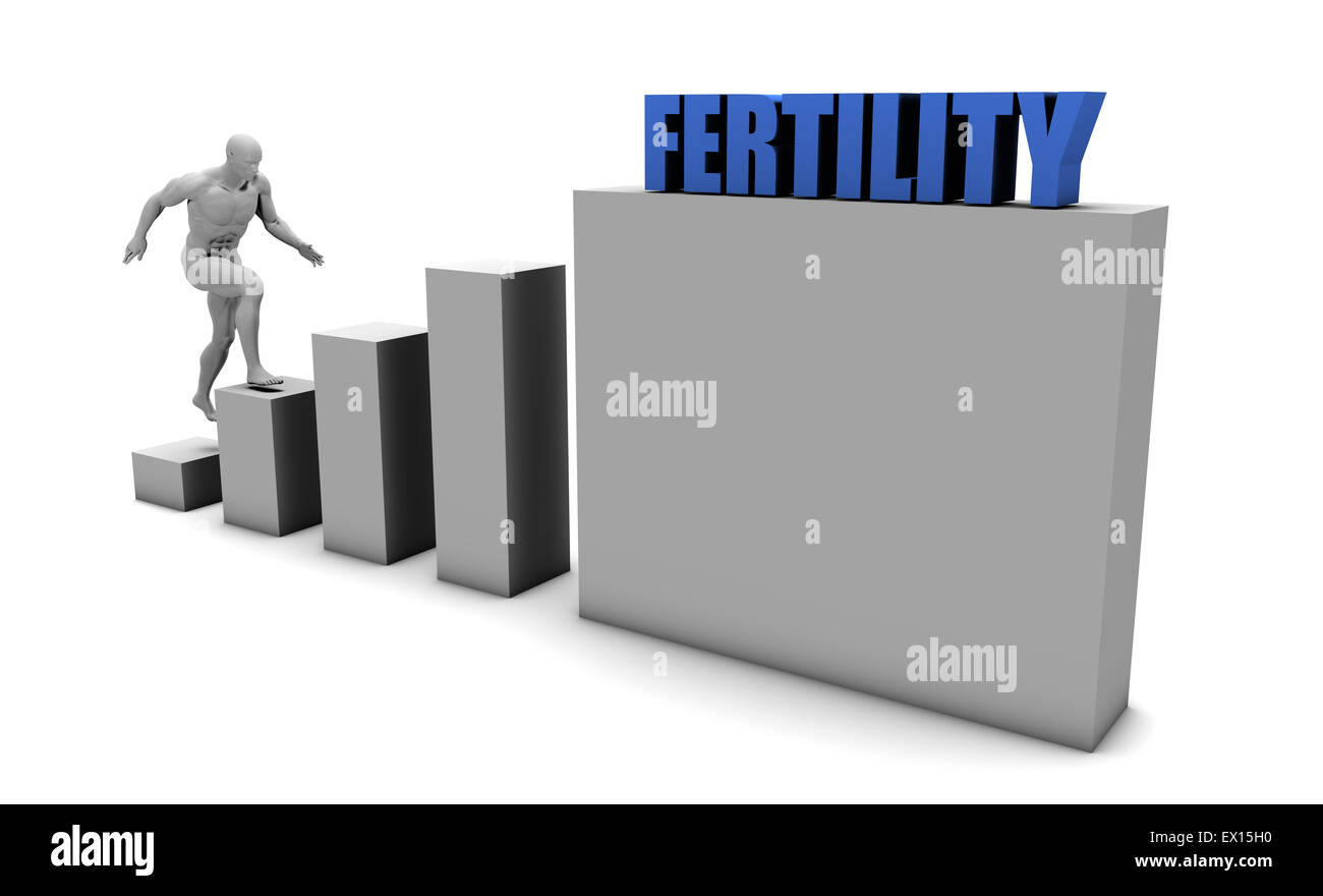 Improve Your Fertility and Increase or Reach Your Goal - Stock Image