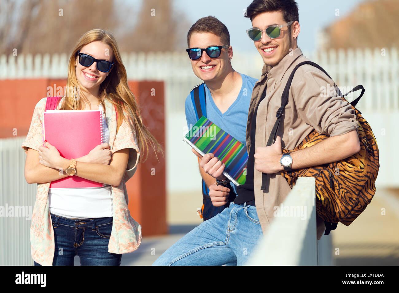 school friends talking stock photos amp school friends