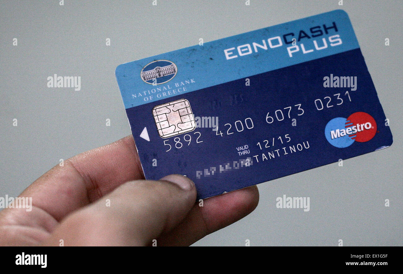 Greece Credit Card Stock Photos & Greece Credit Card Stock Images ...