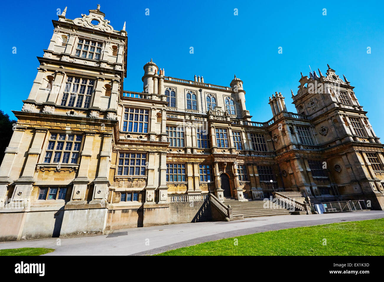 View of Wollaton Hall, Nottingham, England, UK. - Stock Image