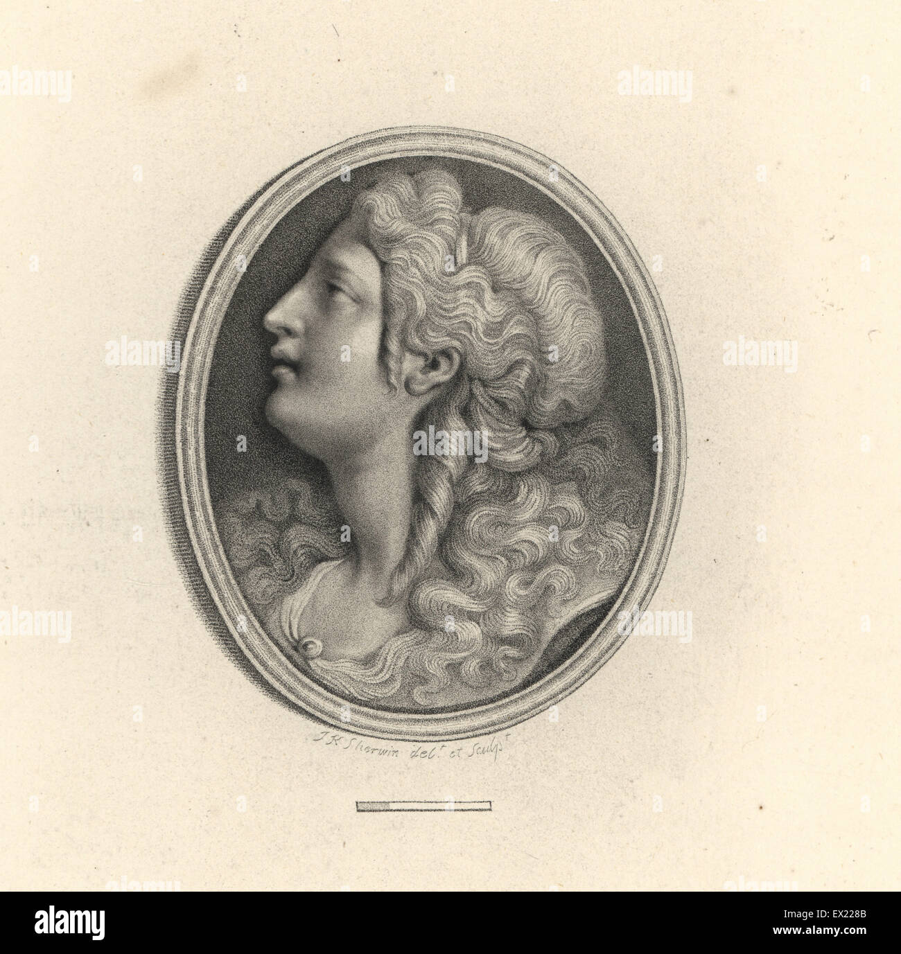 Portrait of Poppaea Sabina Roman Empress wife to Nero with diadem and ringlets. Drawn and engraved by J.K. Sherwin. Copperplate engraving from 108 Plates ...  sc 1 st  Alamy & Portrait of Poppaea Sabina Roman Empress wife to Nero with diadem ...