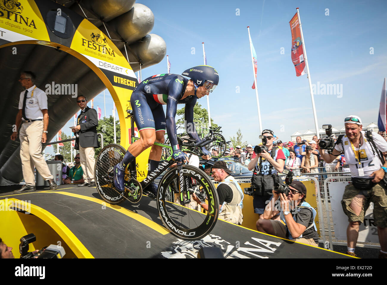 Movistar Cycling Team Stock Photos   Movistar Cycling Team Stock ... f45a228c2