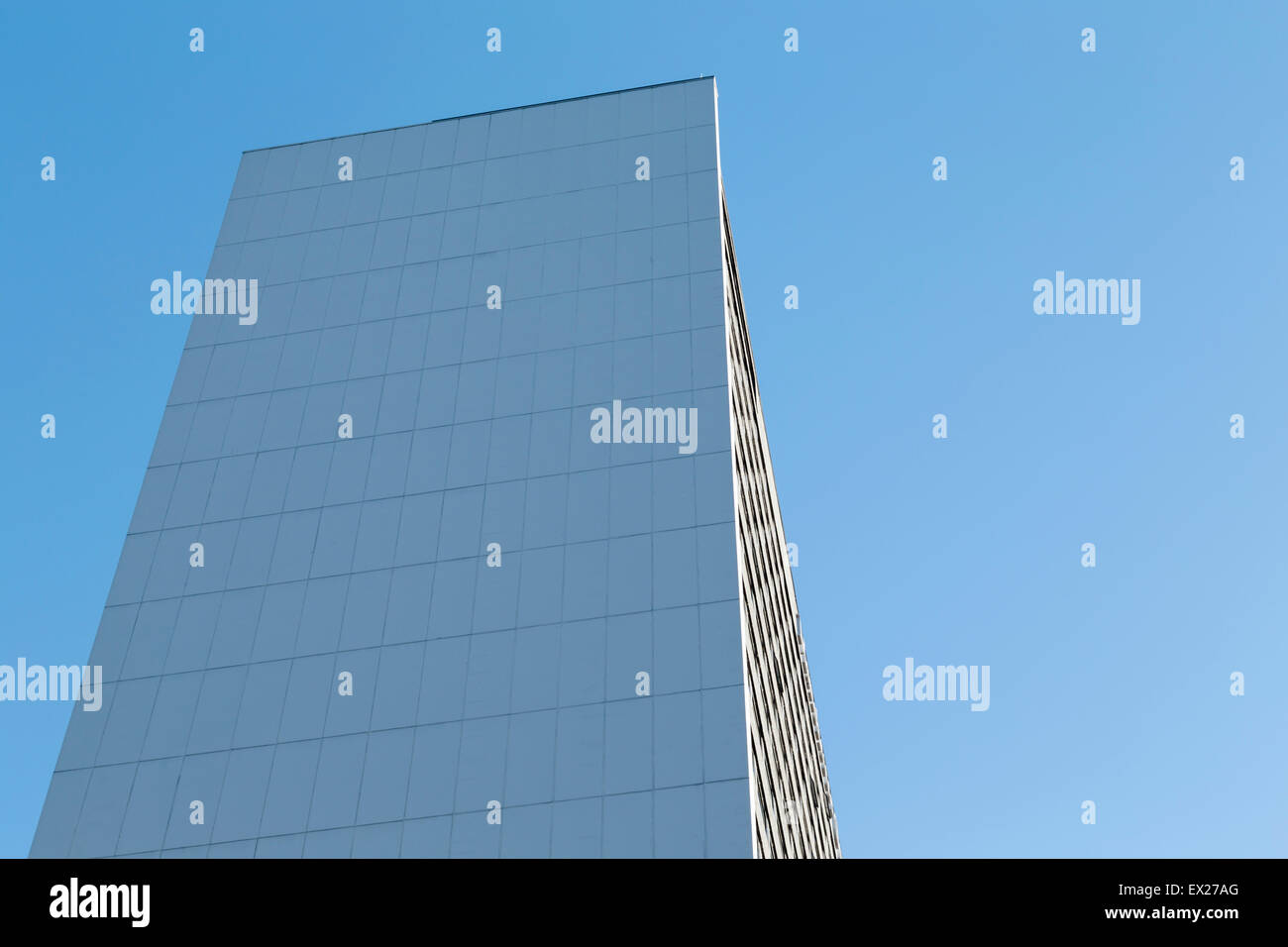 A generic modern office block of the 1960s in Manchester. - Stock Image