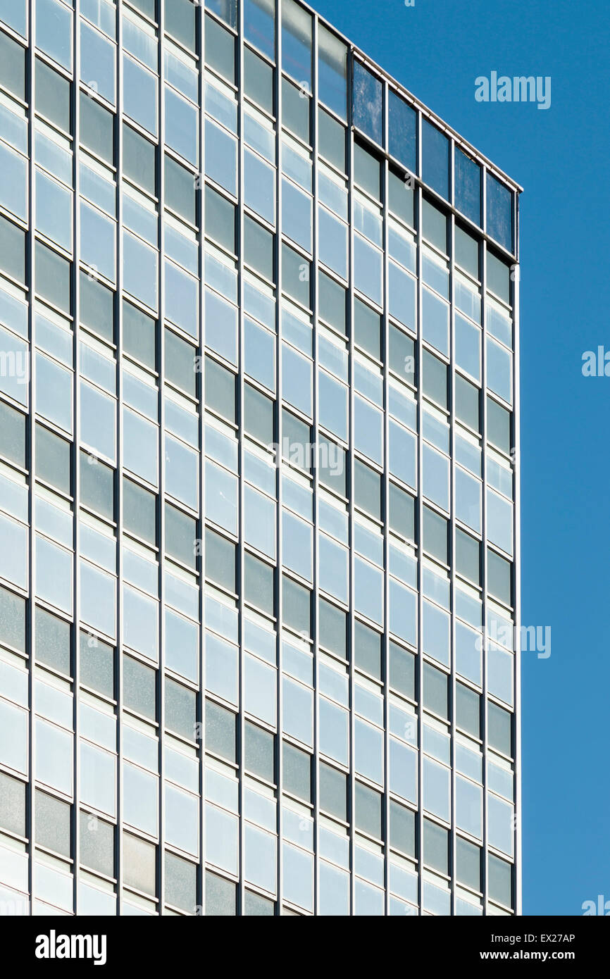 A generic modern 1950s/60s office block in Manchester. - Stock Image
