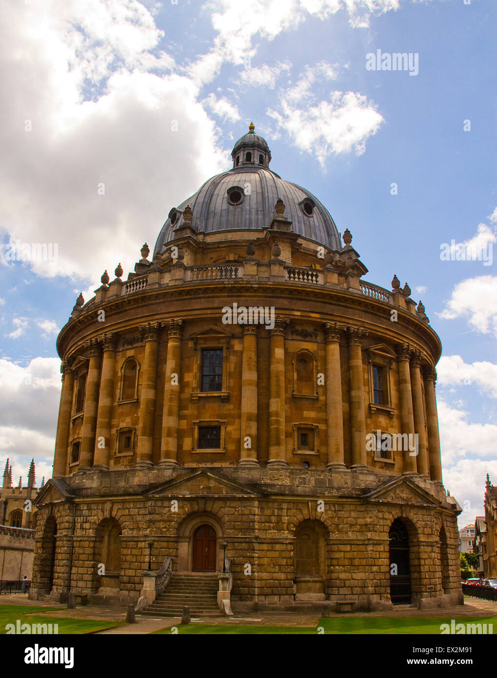 Radcliffe Camera, Oxford University United Kingdom - Stock Image