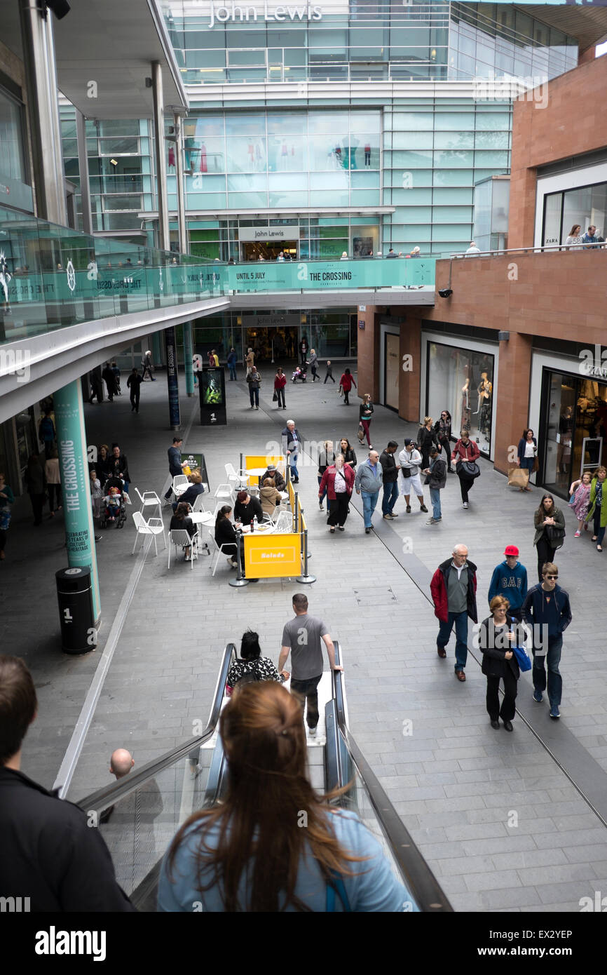 Liverpool One Shopping Centre Center Mall UK - Stock Image