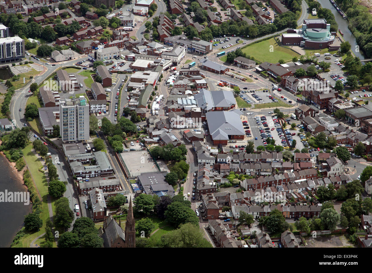 Image result for aerial photo of  runcorn