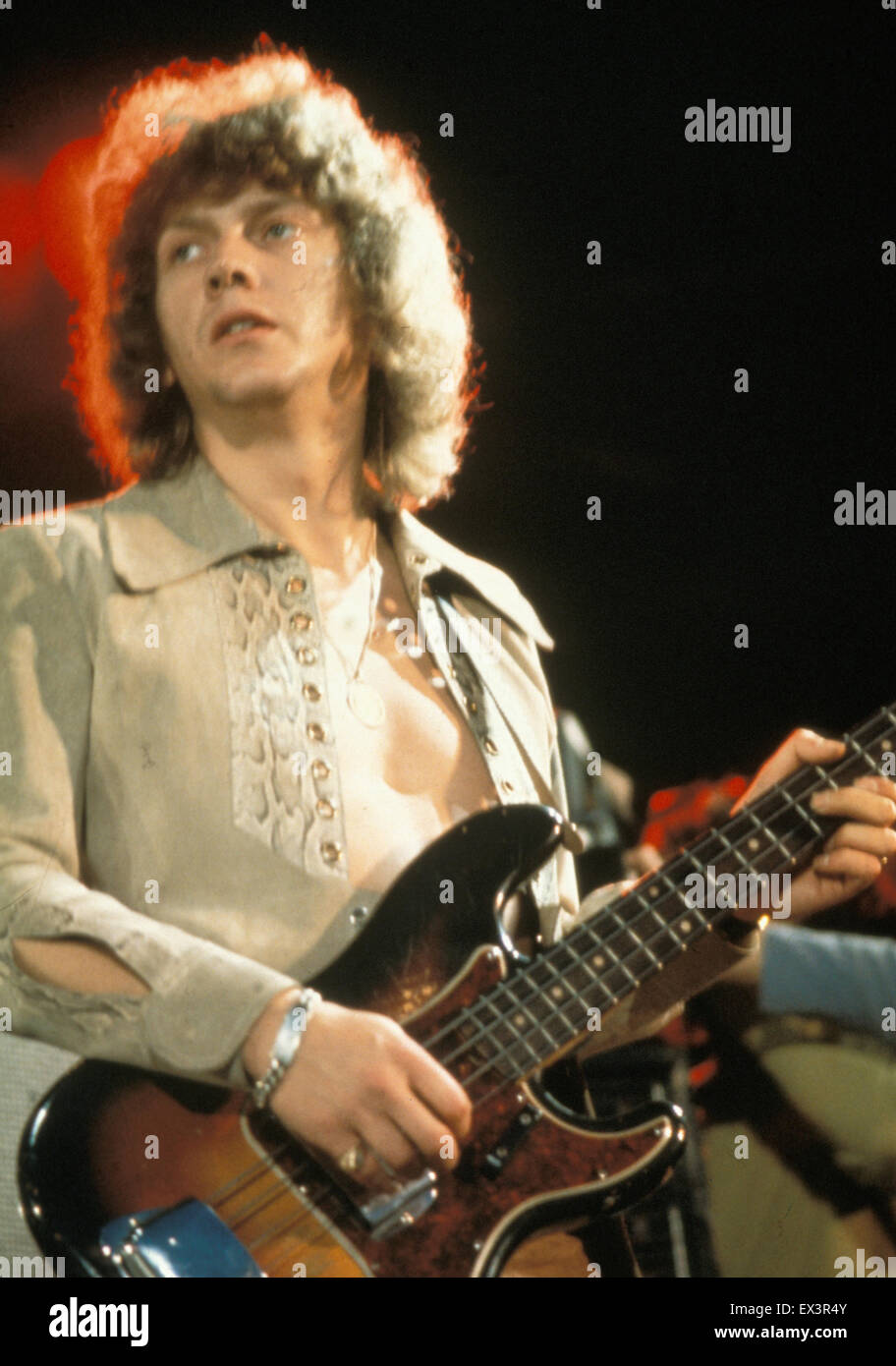 Moody Blues Uk Rock Group With John Lodge About 1975 Stock Photo Alamy