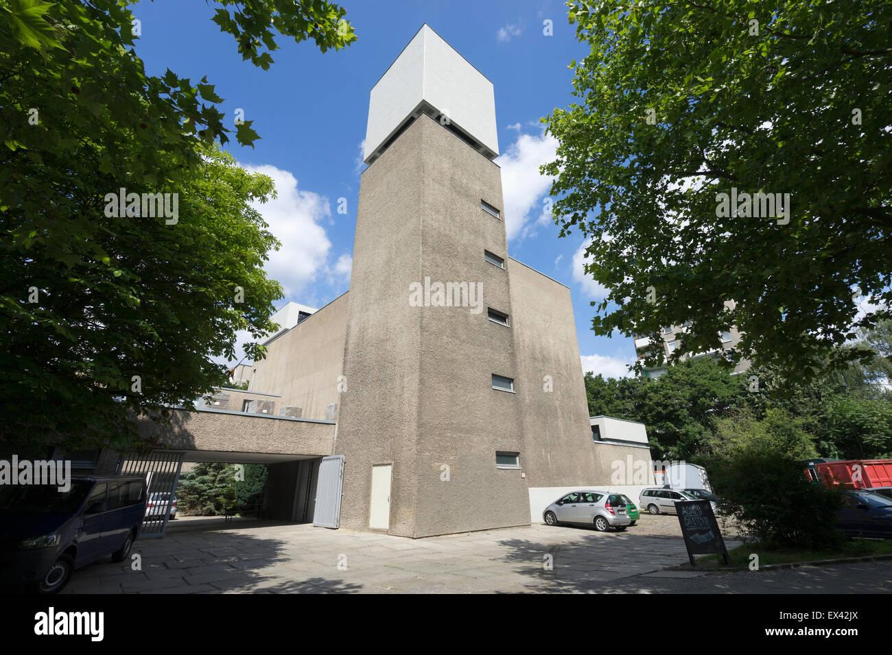 St Agnes church art space and community centre in Kreuzberg  Berlin Germany - Stock Image