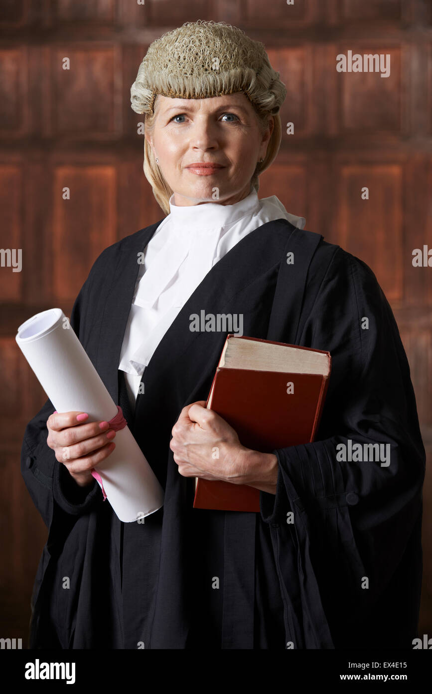 Judge Wig White British Judge Wig Barrister Costume