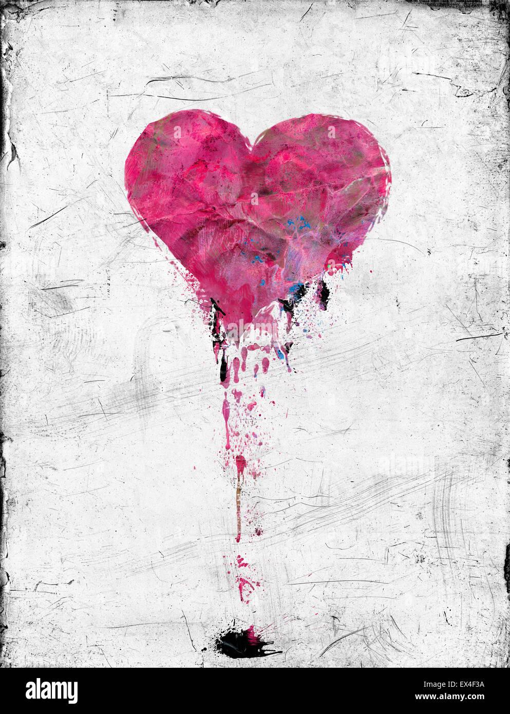 Love lies bleeding - Stock Image