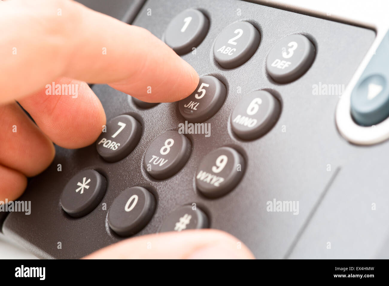Business Office Telephone - Stock Image