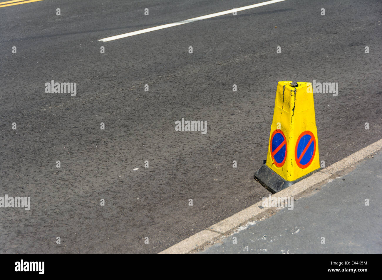 No Parking! - Stock Image