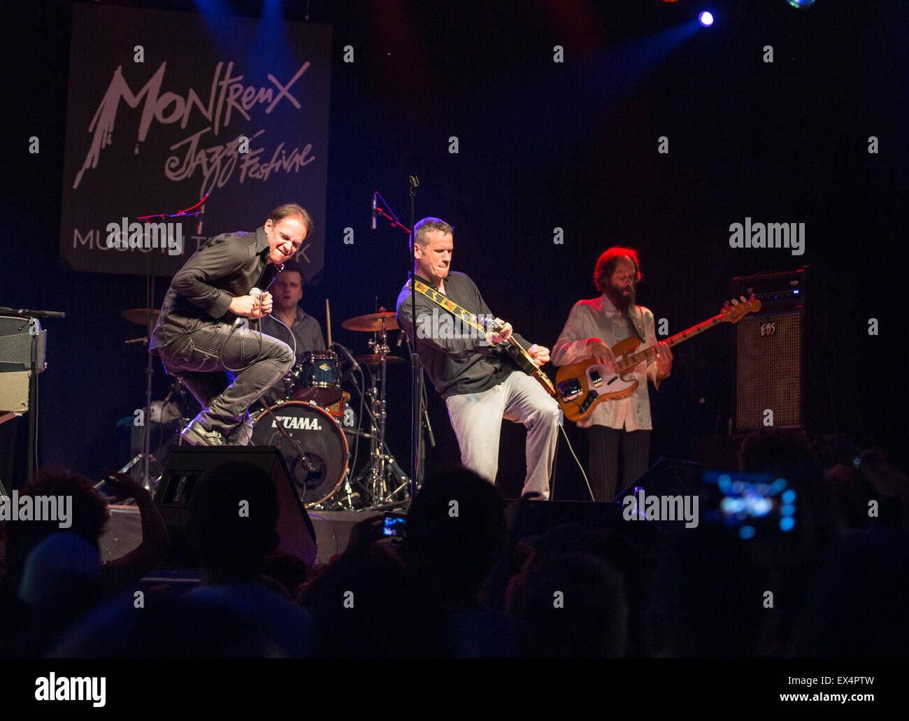 Montreux Jazz Festival 2015 >> Montreux Switzerland 6th July 2015 Members Of The Doors Revival