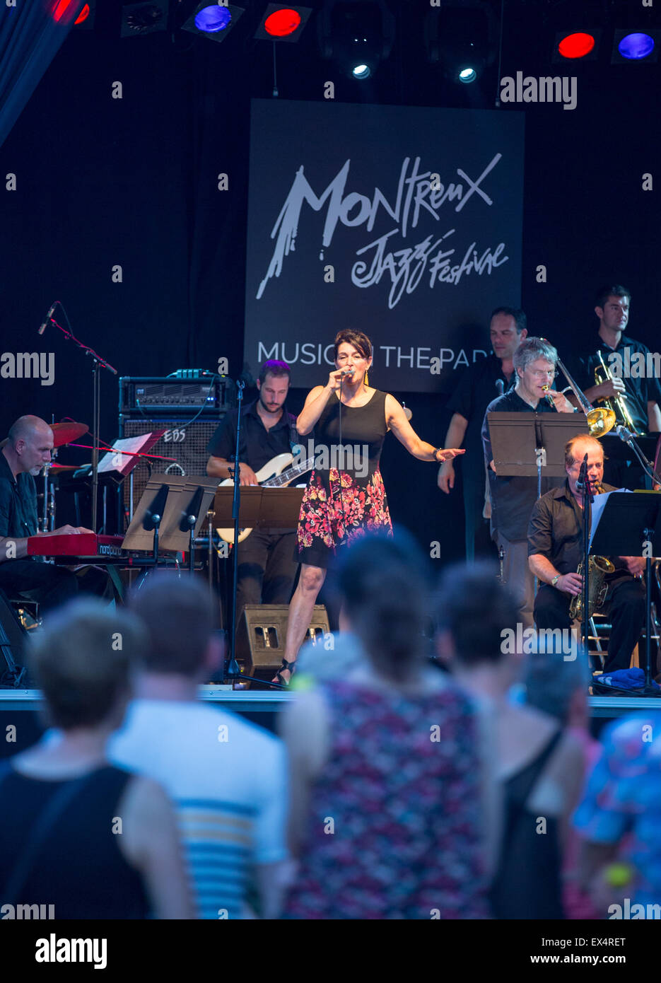 Montreux Jazz Festival 2015 >> Montreux Switzerland 6th July 2015 Members Of A Local Student