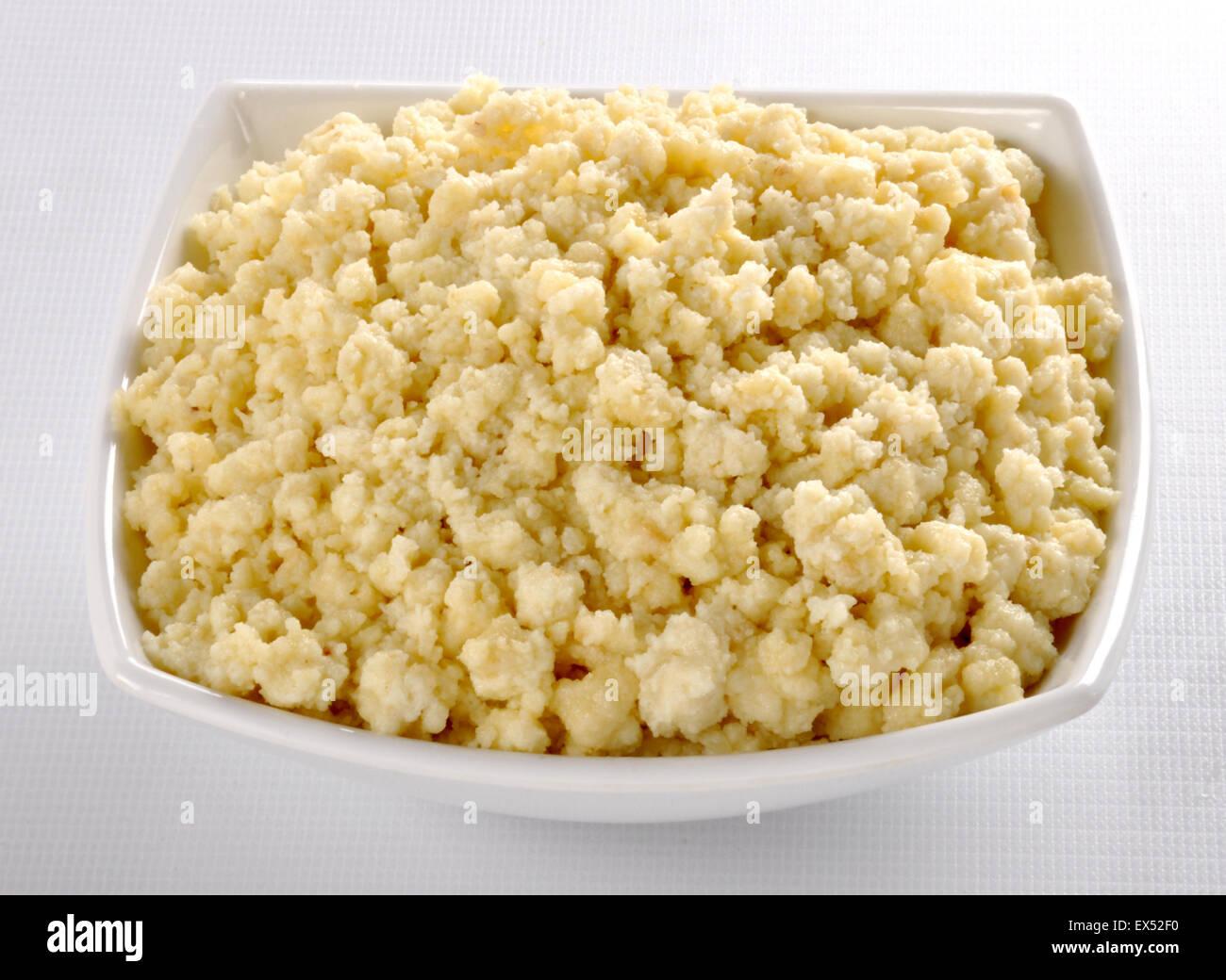Khoya Milk Solid Stock Photo