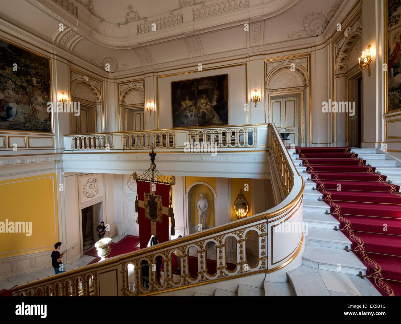 Amalienborg Interior The interior of Christ...