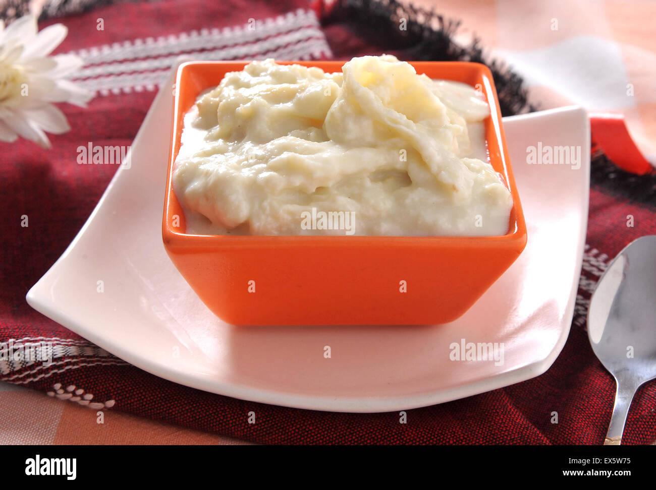 Rabri Milk Pudding - Stock Image